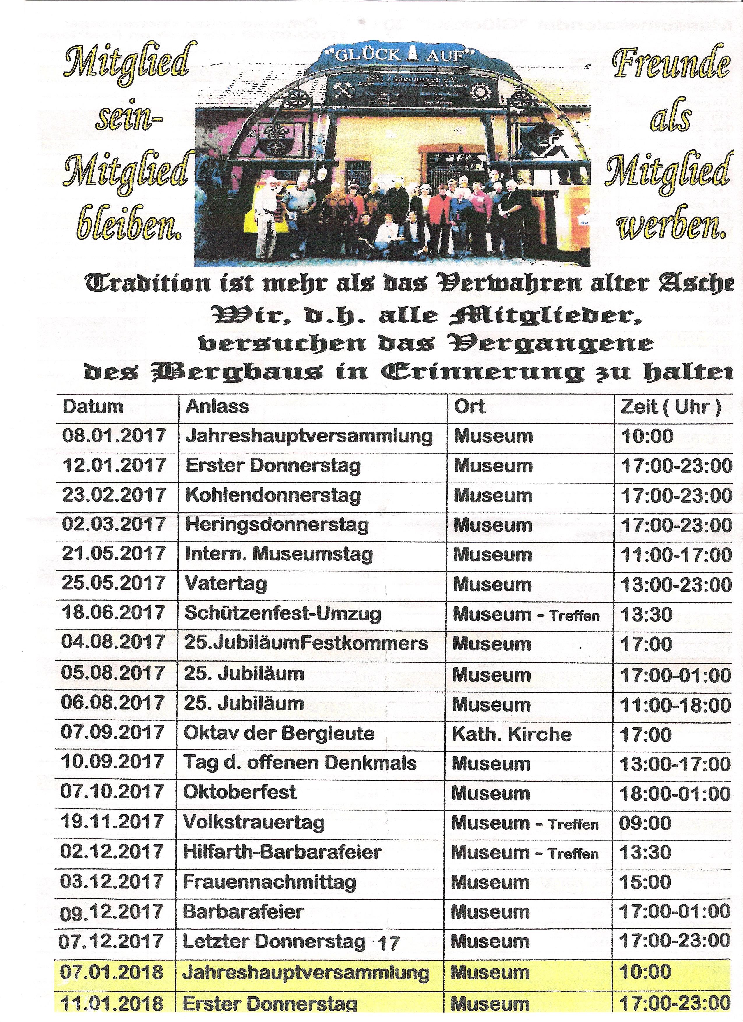 Bergmannshaus_Termine_2017